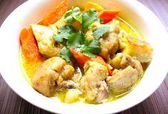 Curry de poulet vietnamien La Kitchenette de Miss Tâm R