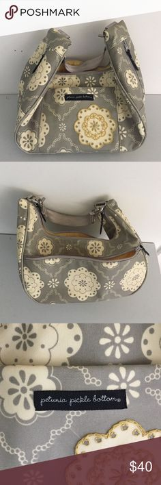 Petunia pickle bottom- purse/diaper bag Nice purse when you are a mom with little ones! Has lots of space for wipes and diapers along with whatever you as a mom need. I also used it after my kids were out of diapers! Bags Baby Bags