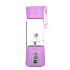 380ML Portable Juicer Cup USB Rechargeable Battery Juice Blender Electric Fruit Juicer Personal Blender with Travel Lid Touch Screen. $36.29