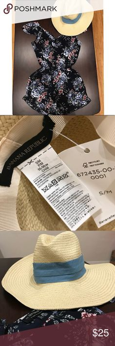 NWT Banana Republic Panama Hat NWT. Banana Republic Panama Hat. Size S/M Banana Republic Accessories Hats