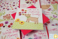 Mothers Day cards for 2014 from Blue Eyed Sun. See their two new ranges of beautiful handmade Mothers Day cards: Daisychain and Cabaret. Sunday Greetings, Mothering Sunday, Mothers Day Cards, Blue Eyes, Greeting Cards, Range, Handmade, Cookers, Stove