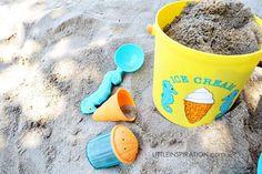 Melissa & Doug ice cream cone sand toys