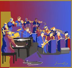 Have a big band at reception