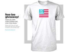 South Suburban Savings: FREEBIE Alert: USA T-Shirt (In Store at JC Penney)