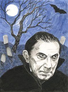 Bela Lugosi by Alison Kolesar