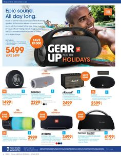Dion Wired : Gear Up For The Holidays March - 4 April page 4 March 4, Boombox, Gears, Holidays, Holidays Events, Gear Train, Holiday, Vacations, Vacation