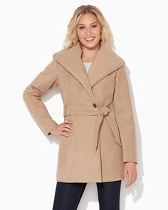 charming charlie | Winter in Paris Wool Coat | UPC: 3000685666 #charmingcharlie