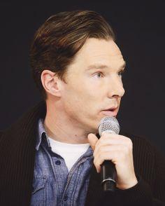 Benedict Cumberbatch during #applelock