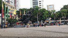 #Pereira Plaza de Bolívar con sus palomas