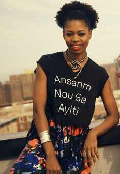 A friends ANSA shirt! #ansanmnouseayiti #ayiti