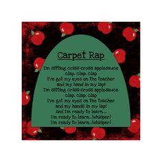 Just Love Teaching: The Carpet Song RAP