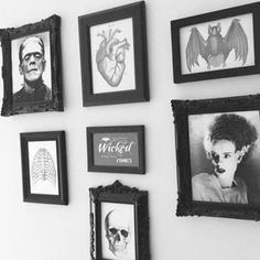 Spooky portrait gallery | #Halloween #Decorations