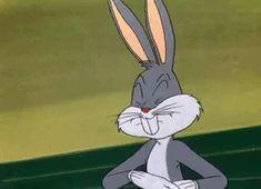 "Fuck Yeah Bugs Bunny (just-a-souvenir-shop: ""First, I was born, which. Cute Bunny Cartoon, Happy Cartoon, Cartoon Memes, Looney Tunes Characters, Looney Tunes Cartoons, Funny Cartoons, Vintage Cartoons, Classic Cartoons, Animated Cartoons"