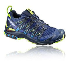 Salomon Men's XA Pro 3D Trail Running Shoes, Black, Synthetic/Textile