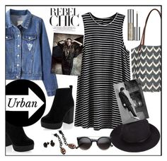 """""""Urbano"""" by biange ❤ liked on Polyvore featuring New Look, rockflowerpaper, Out of Africa and Urban Decay"""