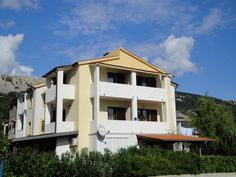 Studio with balcony and air conditioning - Baška Holiday Apartments, Vacation Apartments, Croatia, Balcony, Mansions, Studio, House Styles, Home Decor, Products