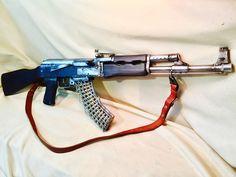 AK 47 METAL SCRAP ART
