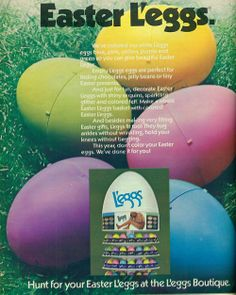 Hanes Easter L'eggs, 1974