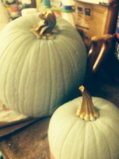 Painted pumpkins