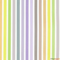 Rasch Textil kids non-woven wallpaper Wonderland wallpaper 308103 stripes purplec green Wallpapers Rasch Textil Wonderland
