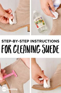 Excellent cleaning tips hacks are offered on our site. Take a look and you wont be sorry you did. Deep Cleaning Tips, Household Cleaning Tips, Toilet Cleaning, House Cleaning Tips, Diy Cleaning Products, Cleaning Hacks, Clean Suede Shoes, How To Clean Suede, Diy Clean Shoes