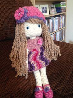 Crochet Doll, Amigurumi, My Crochet Doll, UC Davis Children's Hospital - Doll No. 3 ☆