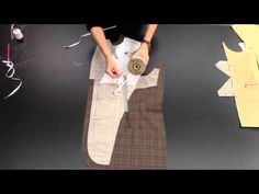 How to Canvas the Suit Coat Front: Part Two - YouTube