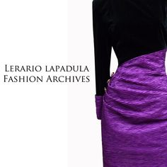 Paola Ferò couture evening dress. Year 1987 ca. Lerario Lapadula Fashion Archives. Join us on instagram: lerario.lapadula.fashion  #madeinitaly #80s #moda #abito #museo #storia #musem #history #anni80