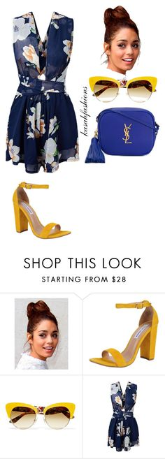 """""""colours for summer"""" by kasahfashions on Polyvore featuring Steve Madden, Dolce&Gabbana and Yves Saint Laurent"""