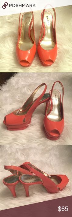 Coral Beebe heels These are gently used Coral Beebe heels. They are the most comfortable heels I've ever worn. Size 6. Style name Zahara. Leather. Beebe Shoes Heels