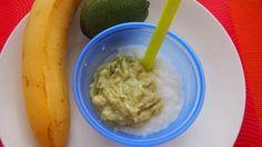 Ryžová kaša s avokádom a banánom