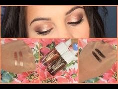 Josie Maran Coconut Watercolor Eyeshadow Review and Tutorial! - http://maxblog.com/5196/josie-maran-coconut-watercolor-eyeshadow-review-and-tutorial/