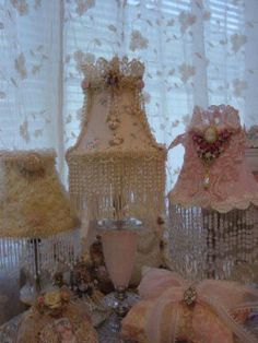 Shabby Chic, Flea Markets, Cooking, Spending Romantic Time with My Hubby, Re-purposing. Shabby Chic Lighting, Shabby Chic Lamps, Shabby Chic Kitchen Decor, Estilo Shabby Chic, Romantic Shabby Chic, Romantic Cottage, Romantic Homes, Shabby Chic Cottage, Vintage Shabby Chic