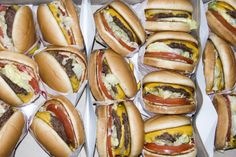 double doubles as far as the eye can see! / in n out