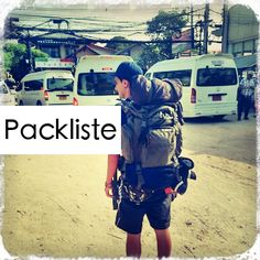 Reise nach Thailand oder Südostasien geplant? Das muss alles mit! Mit dieser gratis Packliste vergesst ihr garantiert nichts mehr.  http://flashpacking4life.de/reisetipps-backpacking-packliste-thailand-backpacker-reisecheckliste/