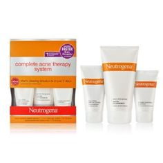 A month ago I picked up the Neutrogena system when I saw it on sale. Within five days days my skin started to clear. Now, I have a completely clear complexion and have not had a single break-out since starting the system. I have had no problems with drying and my skin is much softer than before. Finally, a product that works and comes at a decent price!