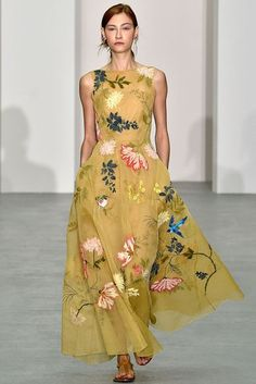 Ultimate Floral Trend Guide For Spring/Summer 2017 | British Vogue