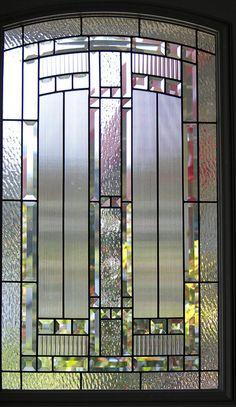 stained glass windows in front door | My front door, glass insert | Flickr - Photo Sharing!