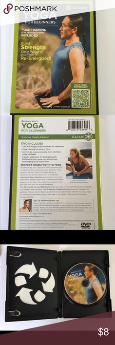 Rodney Yee's Yoga for Beginners Brand new. Used once.  No trades. Reasonable offers please! Gaiam Other