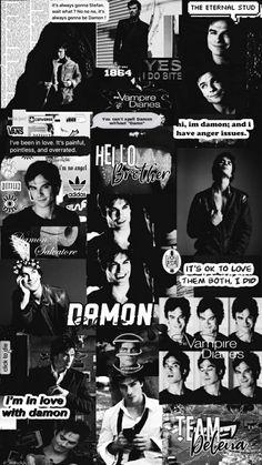 Vampire Diaries Poster, The Vampire Diaries 3, Vampire Diaries Quotes, Vampire Diaries Wallpaper, Vampire Diaries The Originals, Damon Salvatore Quotes, Damon Salvatore Vampire Diaries, Ian Somerhalder Vampire Diaries, Posters Wall