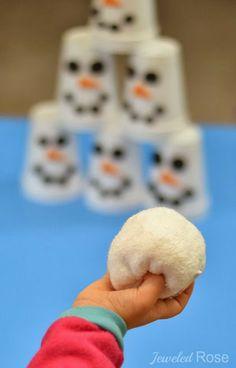 Snowman Slam Game for Kids