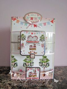 Made with Hunkydory's Boutique Chic collection