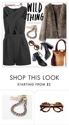 """""""Wild thing"""" by teoecar ❤ liked on Polyvore featuring Pierre Hardy, Emilio Pucci, women's clothing, women, female, woman, misses, juniors and sammydress"""