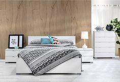 Alexia 4 Piece Queen Bedroom Suite   Super Amart
