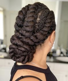 Natural Hair Twists, Natural Hair Updo, Natural Hair Journey, Natural Hair Care, Natural Hair Styles, Curly Weave Hairstyles, Twist Hairstyles, Cool Hairstyles, Kinky Curly Clip Ins