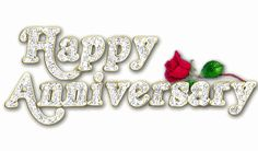 animated gif anniversary cards | Happy Anniversary with Rose Graphic for Facebook Sharing | Graphics99 ...