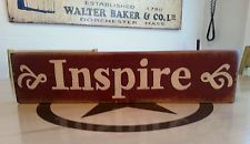 SALE  Inspire primitive sign Hand painted wood sign rustic sign SALE