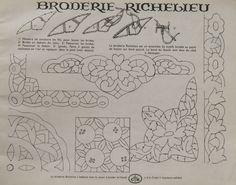 Tous les points de broderie à la main - Collection Floria - Tricots et broderies d'autrefois
