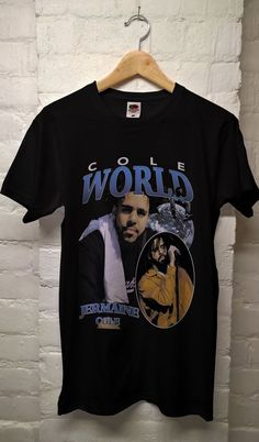 J Cole t shirt, This t-shirt is Made To Order, one by one printed so we can control the quality. 90s Shirts, Cool Shirts, Funny Shirts, Lazy Outfits, Teenager Outfits, Trendy Outfits, J Cole Shirt, T Shirt, Hype Clothing