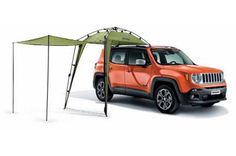 Jeep Renegade, Ideal for camping